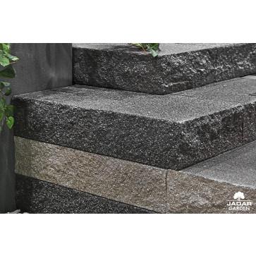 Stopnie schodowe łupane/śrutowane