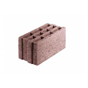 Pustak Alfa 1/1- element ścienny keramzytobetonowy