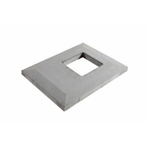 Przykrywa pustaka 1 - ciągowego z wentylacją- system kominowy