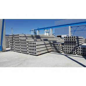 Sprężone płyty kanałowe HCU - elementy stropowe