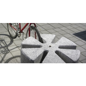 Bicykl (betonowy stojak na rowery)
