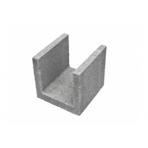 Kształtka Leca Blok nadprożowa 24- element ścienny keramzytobetonowy