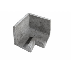 Kształtka wieńcowa zewnętrzna narożna wypukła KWZZ- element ścienny