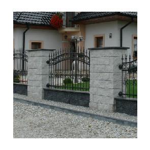 Kostbet zasady montażu ogrodzeń łupanych
